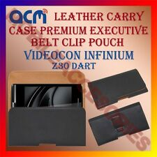 ACM-BELT CASE for VIDEOCON INFINIUM Z30 DART MOBILE LEATHER HOLSTER POUCH COVER