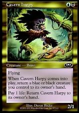 4x Arpia della Caverna - Cavern Harpy MTG MAGIC PLS Planeshift Eng/Ita
