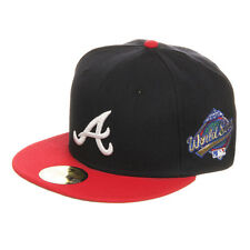New Era - Atlanta Braves World Series 1992 59fifty Cap Navy / Scarlet Fitted Cap