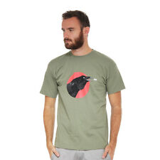 Queens Of The Stone Age - Raven T-Shirt Olive