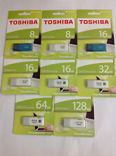 PENDRIVE TOSHIBA U202/U301/CAPACITY/METALIC/ULTRA - 8/16/32/64/128GB USB 2.0/3.0
