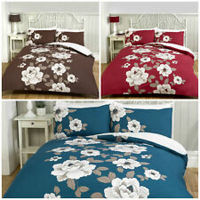 Classic Floral Complete Duvet Cover Fitted Sheet