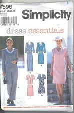 Simplicity 7596 Misses' Top, Pants, Skirt and Shorts  Sewing Pattern