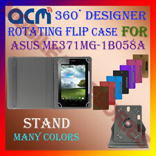 "ACM-DESIGNER ROTATING 360° 7"" COVER CASE STAND for ASUS ME371MG-1B058A TABLET"