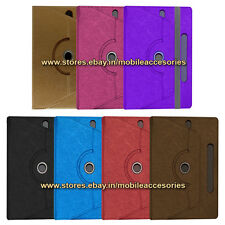 "ACM-DESIGNER ROTATING 360° 7"" COVER CASE STAND for BSNL PENTA IS709C TPAD TABLET"