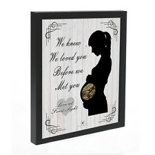 PERSONALISED BABY FRAME - CUSTOM MADE WITH YOUR SCAN PHOTO - MUMMY TO BE GIFT