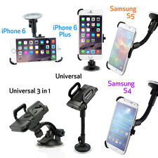 Car Windshield Suction Mount Rotating Stand Holder Cradle for iPhone 6 / 6