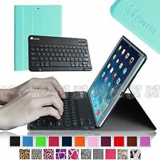 Fintie Slim Shell Case Cover Bluetooth Keyboard for Apple iPad Air 2/iPad 6