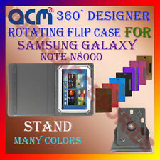 "ACM-DESIGNER ROTATING 360° 10"" COVER CASE STAND for SAMSUNG GALAXY NOTE N8000"