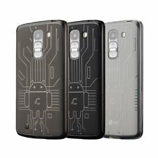 Case for LG G Pro2, Cruzerlite US Bugdroid Circuit TPU Back Cover for LG G Pro 2