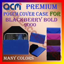 ACM-PREMIUM POUCH LEATHER CARRY CASE for BLACKBERRY BOLD 9000 MOBILE COVER NEW