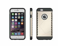 Apple Phone 6s Back Cover, CruzerLite USA Dual Shield Cover for Apple iPhone 6s
