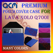 ACM-PREMIUM POUCH LEATHER CARRY CASE for LAVA XOLO Q700I MOBILE COVER HOLDER NEW