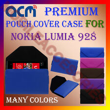 ACM-PREMIUM POUCH LEATHER CARRY CASE for NOKIA LUMIA 928 MOBILE COVER HOLDER NEW