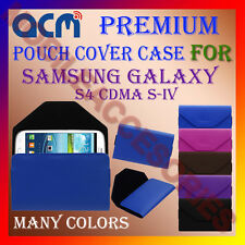 ACM-PREMIUM POUCH LEATHER CARRY CASE for SAMSUNG S4 CDMA S-IV MOBILE COVER NEW