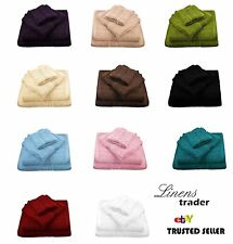 """12 x Bulk Buy 480 GSM Luxury 100%  Soft Cotton Face Clothes Towels Flannels"""
