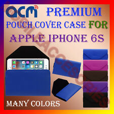 ACM-PREMIUM POUCH LEATHER CARRY CASE for APPLE IPHONE 6S MOBILE COVER HOLDER NEW