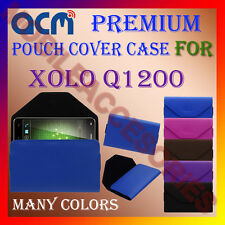 ACM-PREMIUM POUCH LEATHER CARRY CASE for XOLO Q1200 MOBILE COVER HOLDER PROTECT