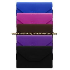 ACM-PREMIUM POUCH LEATHER CARRY CASE for MICROMAX CANVAS JUICE A77 MOBILE COVER