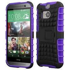 HTC One M8 Case, Cruzerlite Shock Proof Dual Layer Armour Cover for HTC One M8