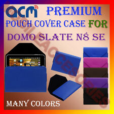ACM-PREMIUM POUCH LEATHER CARRY CASE for DOMO SLATE N8 SE TABLET COVER HOLDER