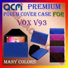 ACM-PREMIUM POUCH LEATHER CARRY CASE for VOX V93 TABLET TAB COVER HOLDER LATEST