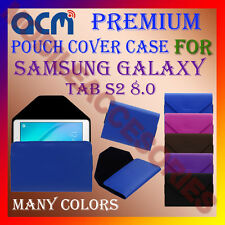 ACM-PREMIUM POUCH LEATHER CARRY CASE for SAMSUNG GALAXY TAB S2 8.0 TABLET COVER