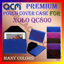 ACM-PREMIUM POUCH LEATHER CARRY CASE for XOLO QC800 TABLET TAB COVER HOLDER NEW