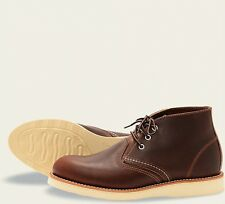 Red Wing  Mens Boots 3141 Chukka Heritage Work Briar Oil Slick