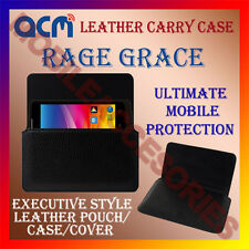 ACM-HORIZONTAL LEATHER CARRY CASE for RAGE GRACE MOBILE COVER HOLDER PROTECTION