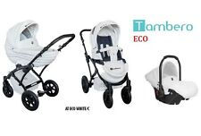 Baby Pram Pushchair Buggy T-ECO, Car Seat, Luxury Travel System 2in1 - 3 in 1