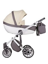 Baby Pram Pushchair Stroller Anex Q1 + Car Seat, Luxury Baby Travel System 3in1