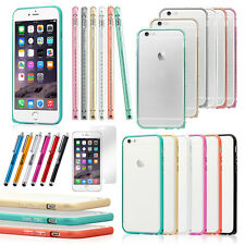 Aluminum Ultra-thin Metal Case Bumper Cover Skin for Apple iPhone 6 6S plus