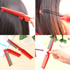 Hot Salon Anti-Static Combing Folding Hairdressing Hair Brush Travel Comb