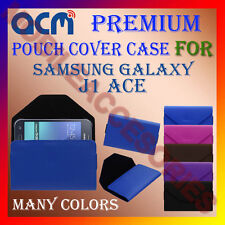 ACM-PREMIUM POUCH LEATHER CARRY CASE for SAMSUNG GALAXY J1 ACE  MOBILE COVER NEW