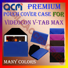 ACM-PREMIUM POUCH LEATHER CARRY CASE for VIDEOCON V-TAB MAX TABLET TAB COVER NEW