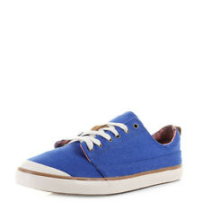 Womens Reef Walled Low Blue Casual canvas Sneakers Trainers UK Size