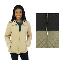 Jessica Simpson Women's Diamond Quilted Jacket Coat