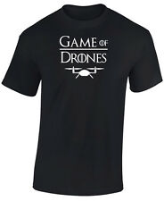 GAME OF THRONES T SHIRT - GAME OF DRONES -  DRONE T SHIRT - NOVELTY DRONE TSHIRT