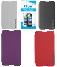 TBZ Flip Cover Case for Sony Xperia E4 with Screen Guard opt