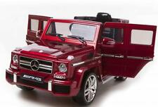 Mercedes AMG G63 SUV 12v Kids Battery Electric Ride on Car Jeep with Remote