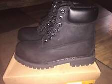 NEW MENS TIMBERLAND 6 INCH BOOTS BLACK or WHEAT