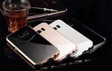 Slim Metal Aluminum Bumper Tempered Glass Cover Case For Samsung Galaxy S7 Phone