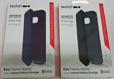 Tech21 Authentic Evo Frame Wallet Series Case For Samsung Galaxy S6 Edge