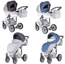Baby Pram Pushchair Stroller Buggy Anex Q1, Car Seat, Luxury Travel System 3in1