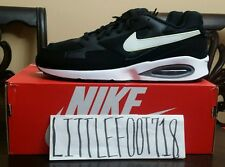 NIKE MEN AIR MAX ST RUNNING SHOES BLACK & WHITE  NEW 652976-001