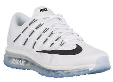 NEW MENS NIKE AIR MAX 2016 RUNNING SHOES TRAINERS SUMMIT WHITE / WHITE / BL
