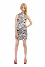 B&B Ruth Paisley Pencil Dress