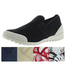 Cougar Snap Women's Slip On Canvas Sneakers Shoes
