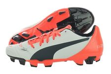 Puma evoPOWER 4.2 FG 10322007 White Soccer Cleats Shoes Medium (D, M) Mens